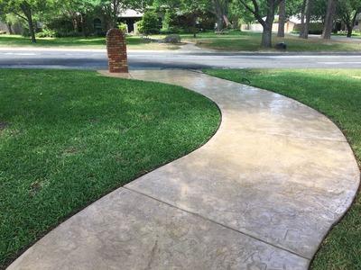 Pressure Washing Your Sidewalk